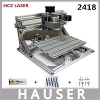 Diy Cnc Engraving Machine Cnc 2418 Diy Laser Engraver GRBL Control ER11 Cnc 3 Axis Pcb