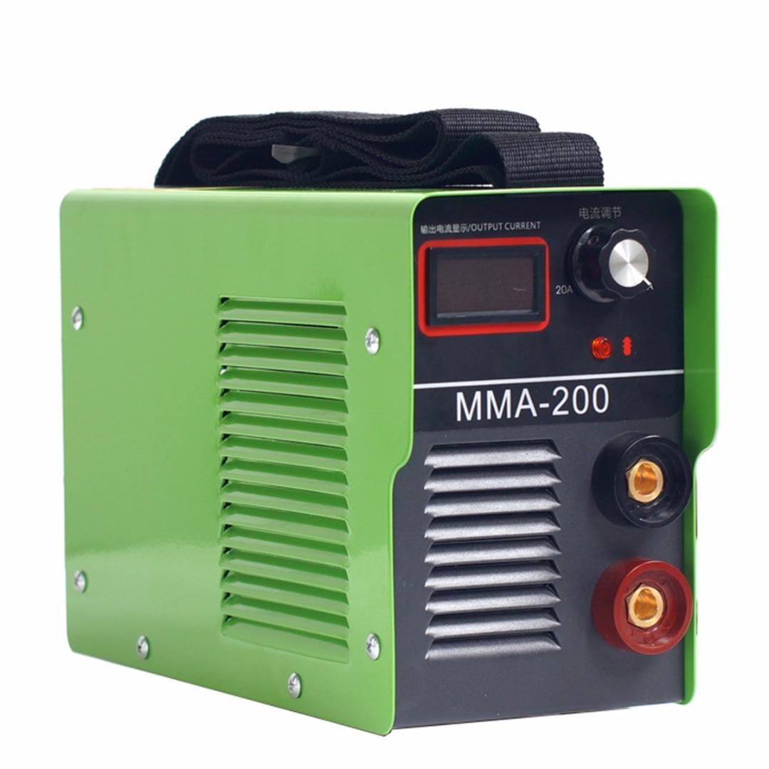 220V Potrtable MMA-200 Electric Welding Machine Solder Inverter ARC Machine220V Potrtable MMA-200 Electric Welding Machine Solder Inverter ARC Machine