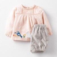 Little maven/осенний хлопковый комплект одежды для маленьких девочек 2-7 лет, Детская Осень Бутик Одежда, комплекты одежды для девочек