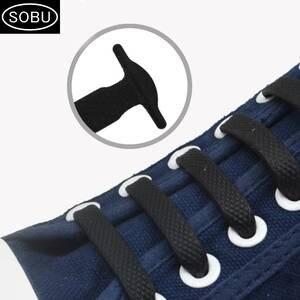 33040a22dab SOBU 16pcs lot No Tie Shoelaces Elastic Silicone Shoe Laces