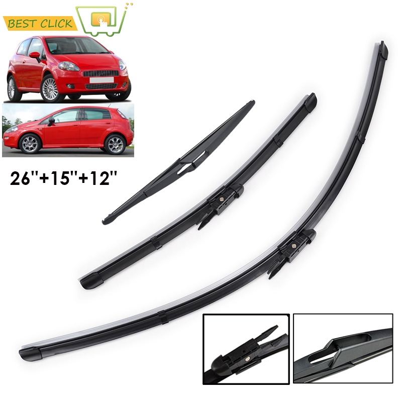 2x FRONT WINDSCREEN WASHER JET NOZZLE FOR FIAT PALIO PANDA PUNTO *NEW*