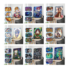 New special shape diamond painting cartoon animal flower combination modern pattern DIY 5D part drill cross stitch kit crystal a