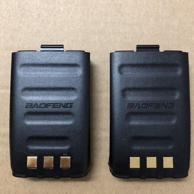 2 pezzi GT 3 GT 3TP walkie talkie 1800mAh li battery 100% originale GT 3 Mark II, GT 3TP Mark III batteria