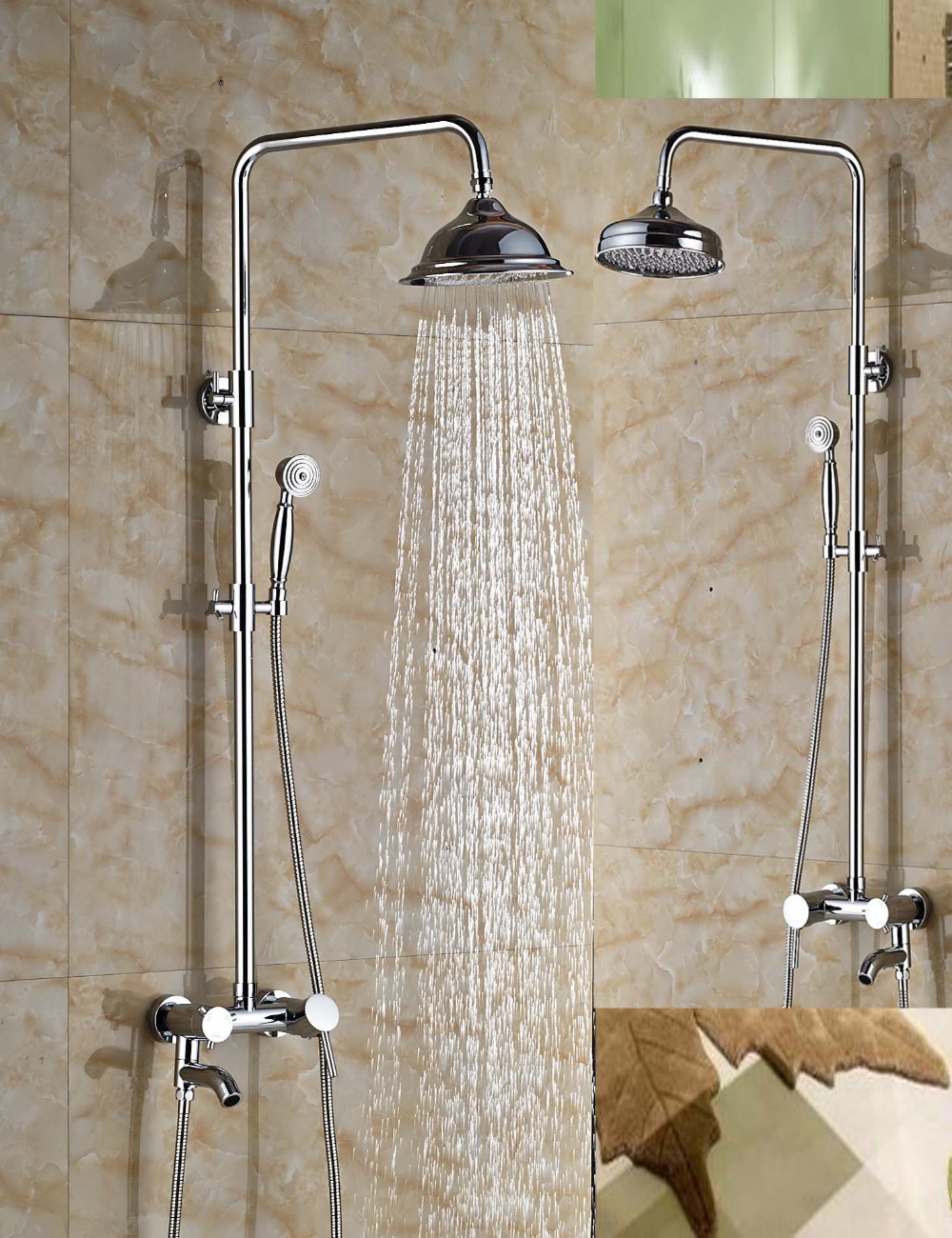 Wholesale And Retail Solid Brass Chrome Finish Bathroom 8
