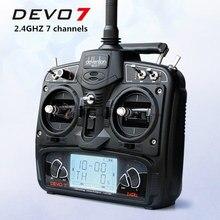 Original Walkera 2.4G 7 channels remote control DEVO 7 transmitter RX701 receiver for DIY FPV drone QAV250 QAV-R robocat 270