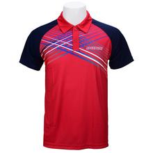 Nowy przyjazd DONIC tenis stołowy ubrania Sportswear szybkie suche Krótki rękaw mężczyzn ping pong shirt Badminton Sport koszulki tanie tanio Unisex Pasuje do rozmiaru Weź swój normalny rozmiar