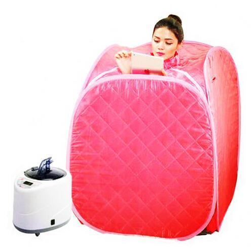 Nueva Familia Carpa caja Skin Spa Sauna De Vapor Portátil sauna de vapor Vapor de enviar de regalo