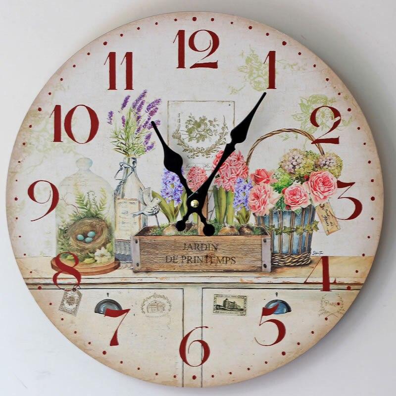Relojes grandes de cocina - Reloj de pared para cocina ...