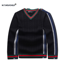 Men's sweaters 2017 New style spring and autumn men's brand 100%cotton V-neck sweaters casual mens clothing mens tops 4 colors