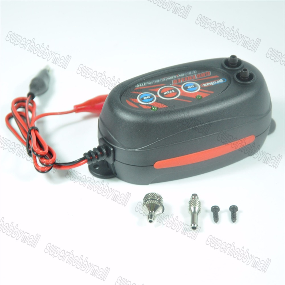 ФОТО Prolux PX1673 Fast Fueller 7.2-12V Electric Gas Fuel Pump Gasoline Nitro