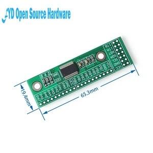 Image 5 - 1pcs MCP23017 I2C ממשק 16bit אני/O הארכת מודול פין לוח IIC כדי GIPO ממיר 25mA1 כונן כוח אספקת עבור Arduino