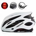 KINGBIKE 2018 новый дизайн  Матовые Белые велосипедные шлемы MTB  горный  дорожный велосипедный шлем  Женский велосипедный шлем с задним светильник...