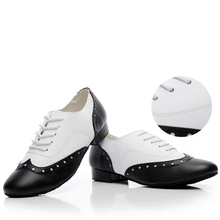 Sneakers Genuine leather Latin dance shoes For Men Boy Sports Shoes He