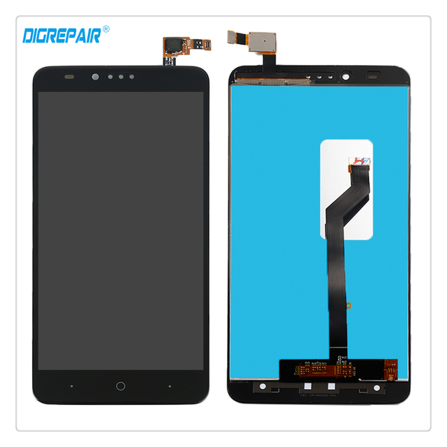 100% Tested High Quality Black For ZTE Zmax Pro Z981 LCD Display Touch Screen Digitizer Full Assembly Repair Replacement Parts