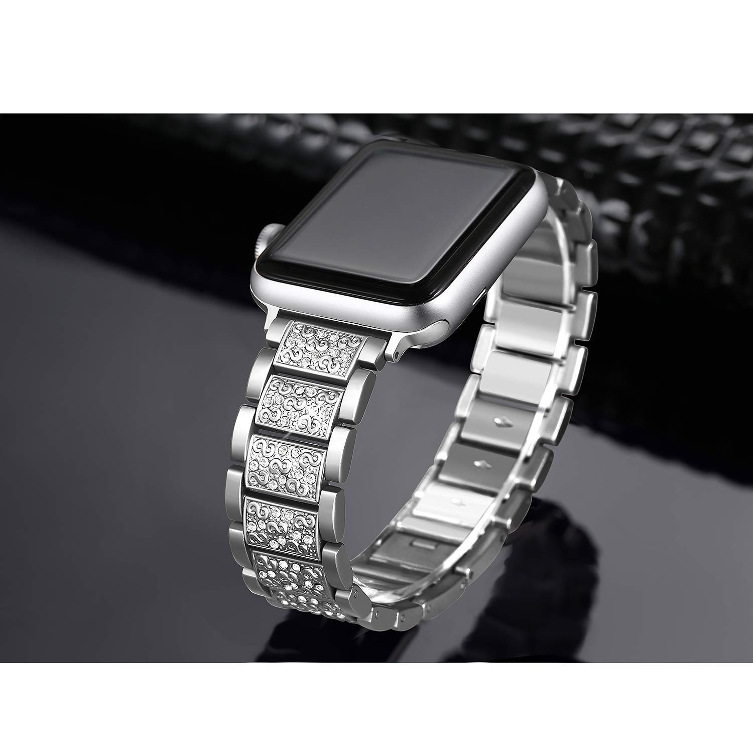 Women Diamond Band for Apple Watch 9