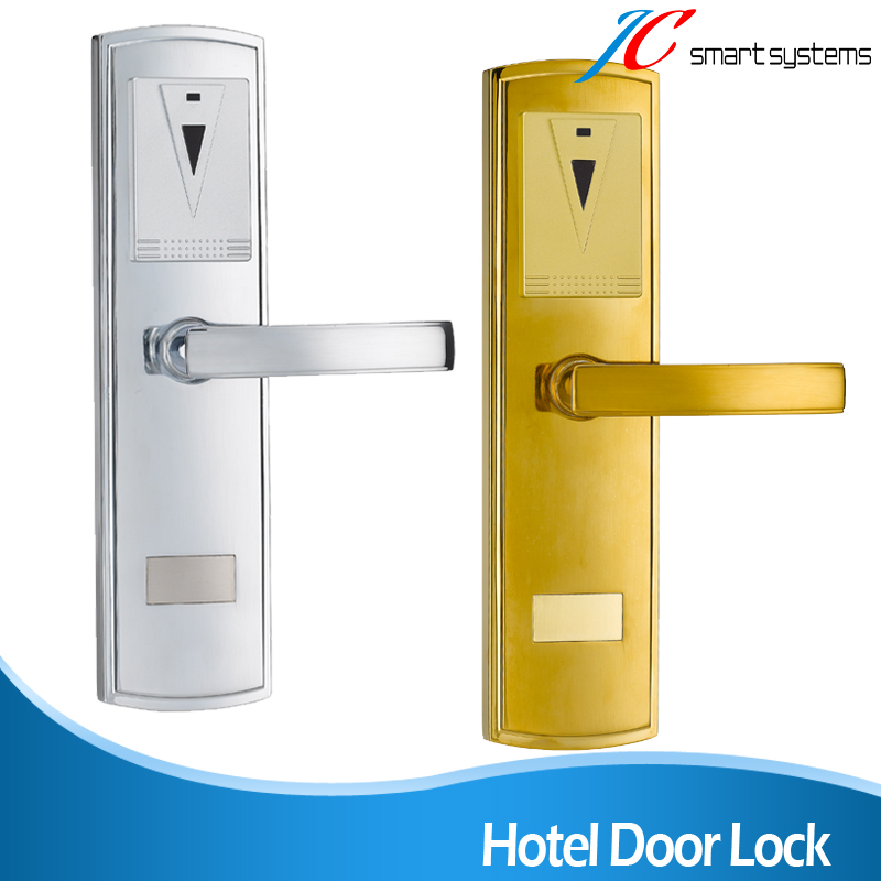 ФОТО Zinc Alloy Smart Lock Electric Hotel Security Lock With Software Model 108E-J