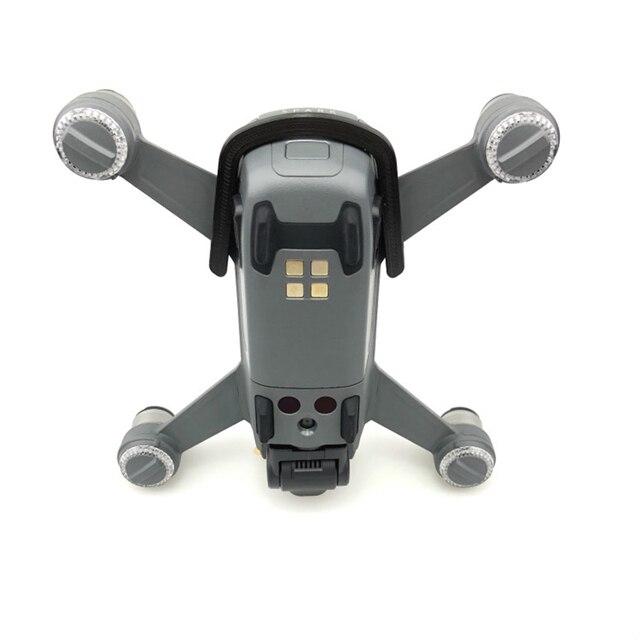 Sunnylife pour DJI Spark accessoires 4730 hélice + fixateur dhélice + garde dhélice avec train datterrissage + couvercle de boucle de batterie