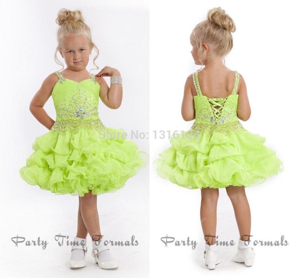 Online Get Cheap Lime Green Flower Girl Dress -Aliexpress.com ...