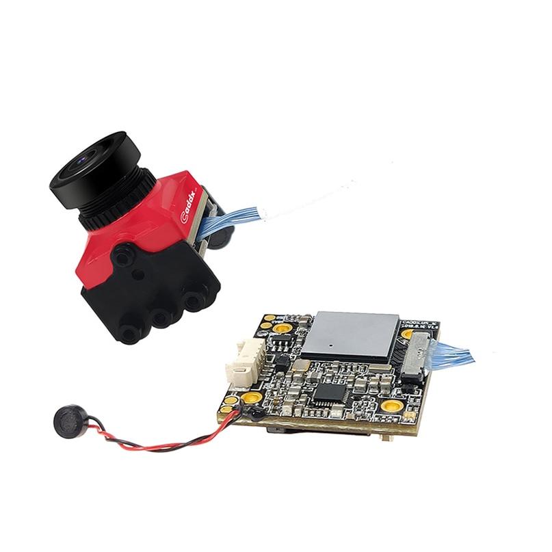 Caddx. uns Schildkröte V2 800TVL 1,8mm 1080p 60fps NTSC/PAL Umschaltbar HD FPV Kamera w/DVR für RC Hobby DIY FPV Racing Drone - 2