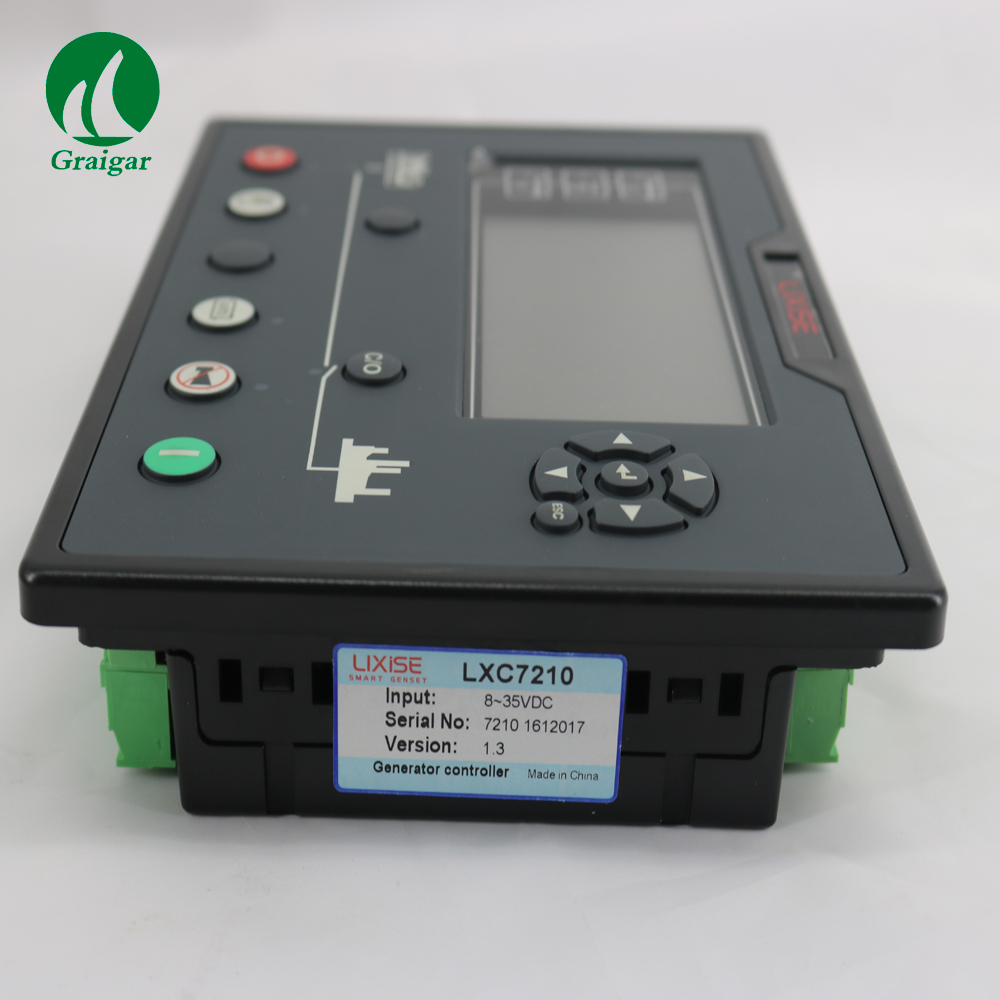 New Electrical auto start LXC7210 diesel generator controller  replacement of DSE7110/DSE7210/DSE7310 fast shipping 5 pins 5kw ats single phase 220v diesel generator controller automatic starting system auto start stop function