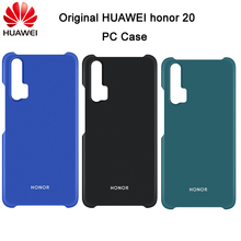 Original HUAWEI honor 20 Case Plastic PC Hard Back Cover Protective Shell Capa Case for honor 20