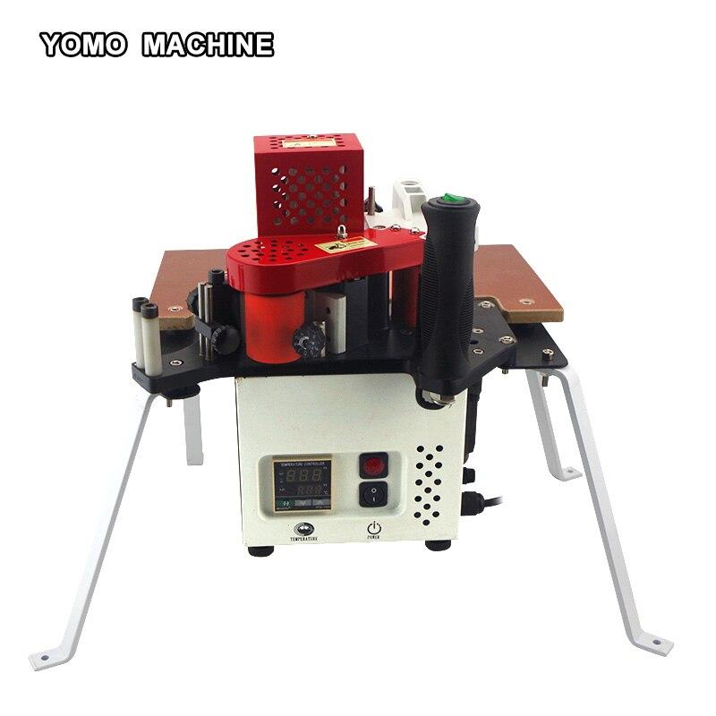 KM-08 Edge Banding Machine Woodworking PVC Edge Bander 110V/220v