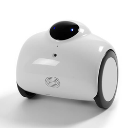 معيار HD WIFI الأسرة روبوت مراقبة الطفل مع التحكم عن بعد و 2 في اتجاهين الصوت الداخلي مع تعديل لهجة و التلقائي شحن