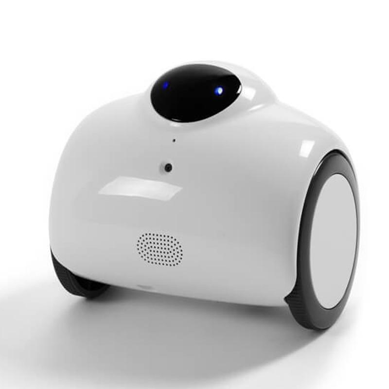 Standard HD WIFI Famille Robot Bébé Moniteur avec Télécommande et 2-Voix Interphone Bidirectionnel avec Ton Modifiée et automatique De Charge