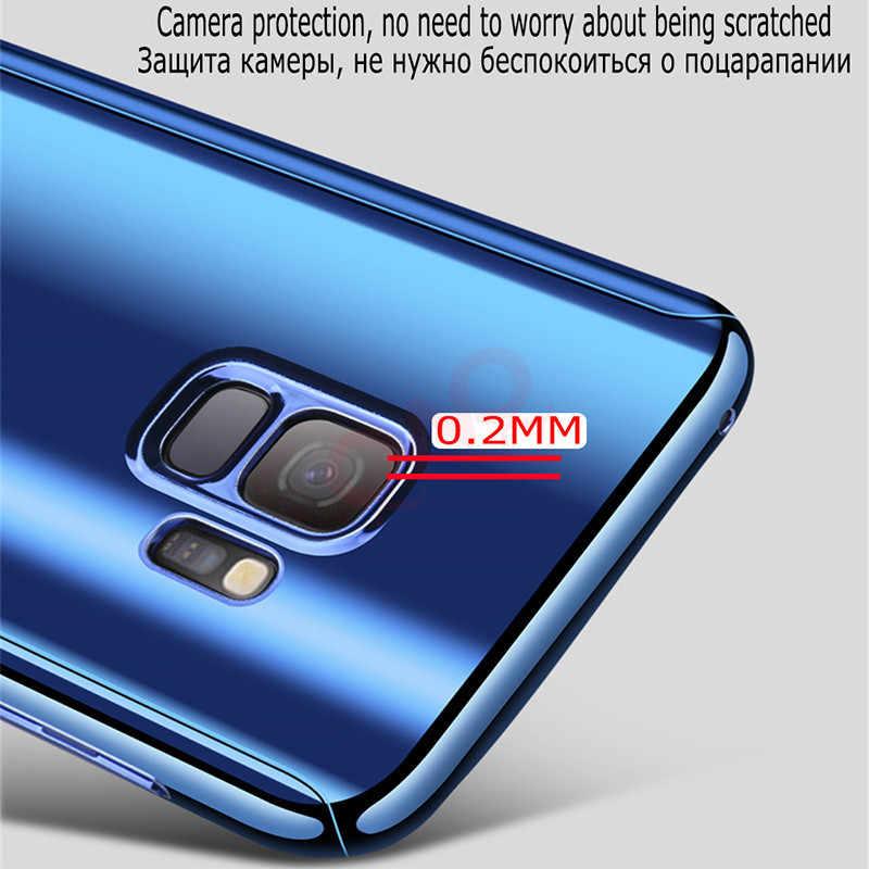 Роскошные 360 зеркальный рамочный чехол для телефона для samsung Galaxy S9 S8 плюс полное покрытие чехол для Galaxy A5 A7 J5 J7 2017 S7 Edge Чехол-сумочка