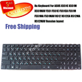 100% Brand new Russian Keyboard  for ASUS X551C X551M X551MAV F551 F551C F551CA F551M F551MA F551MAV R512 R512CA R512MA R512MAV