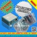 Ferramenta de reparo do telefone móvel & unlock polvo caixa de polvo para samsung edition com 19 cabos para samsung