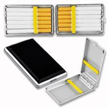 WITUSE Cigarette Case B Metal Leather Cigarette Box Case Holder Collection