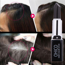Get more info on the New Temporary Cosmetic Cover Your Grey White Hair Touch Up Hair Color Lipstick Black Hair Coloring Shampoo    #20.15
