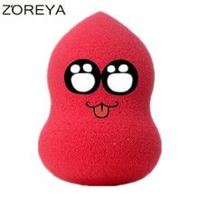 2016 New Arrival ZOREYA Brand  Soft Makeup Powder Puff beauty Makeup sponge Water Droplets Blender/Puff Sponge Sans Latex