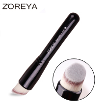 2016 ZOREYA brand oblique style foundation brush top quality multifunctional BB cream concealer brush free shipping