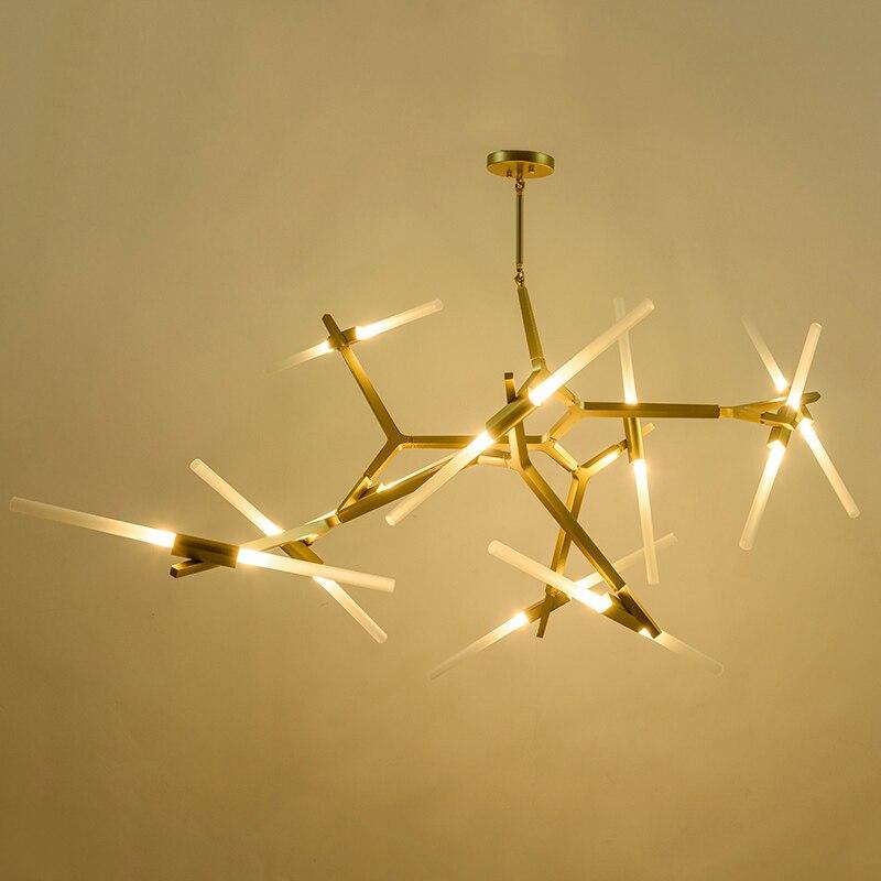 Creative Branch Arts Roll Hill Agnes Pendant Light Lamp Modern Italian Design Personality Living Room Restaurant Lamps Fixtures