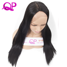 Qp hair Long Silky Straight Lace Front Wigs Synthetic For Women Heat Resistant L