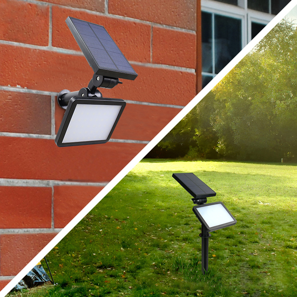 Waterproof IP65 Outdoor Garden LED Solar Light 48 Led Super Bright Garden Lawn Lamp Landscape Emergency