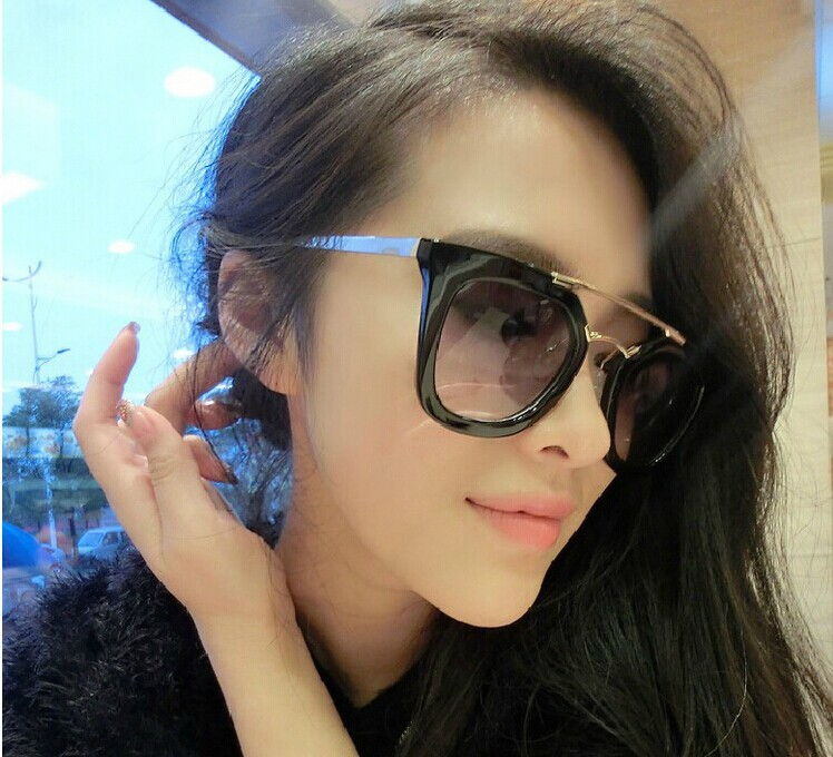 4b4f90d69eb New 2016 Women Sunglasses Black Fashion Designer Glasses For Girls  Accessories Drop Shopping-in Sunglasses from Apparel Accessories on  Aliexpress.com ...