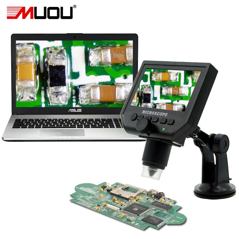 Professional Pocket Mini USB Digital Microscope soldering microscope for Mobile phone watch repair Magnifier LCD screen Computer efix 2mp 7 tv lcd monitor digital camera microscope magnifier led light fix repair mobile cell phone pcb bga ic soldering tools