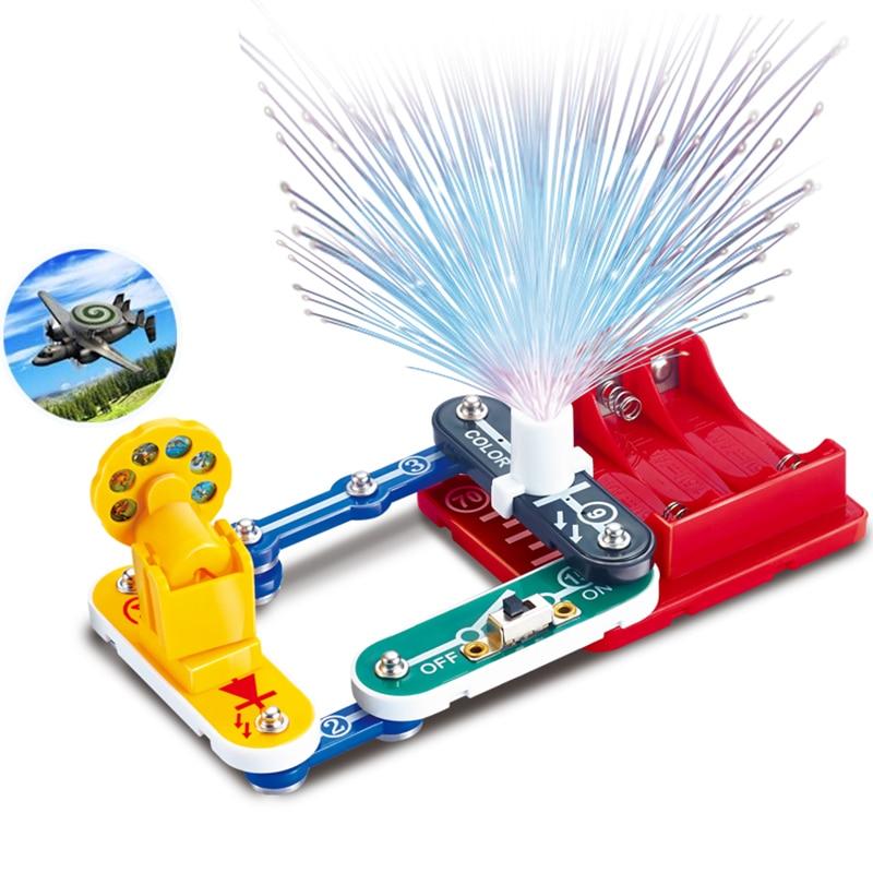 Jouets pour enfants Circuit intégré blocs électroniques Science éducation jouet physique créative expérience technologie apprentissage