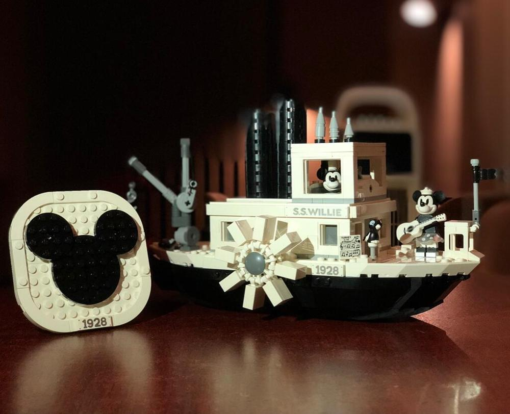 2019 New Steamboat Willie Movie Compatible With Legoines 21317 Building Blocks Bricks Toys For Children Gifts Kid Christmas Gift