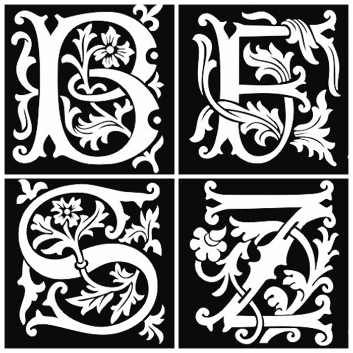 100 Tattoo Lettering Designs For Your Body Art: Popular Stencil Kit Letters-Buy Cheap Stencil Kit Letters