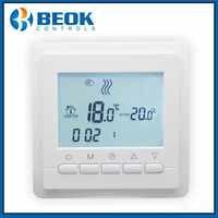Beok TOL43-WP LCD Programmable chauffage par le sol de l'eau Thermostat d'ambiance numérique régulateur de température hebdomadaire au sol chaud