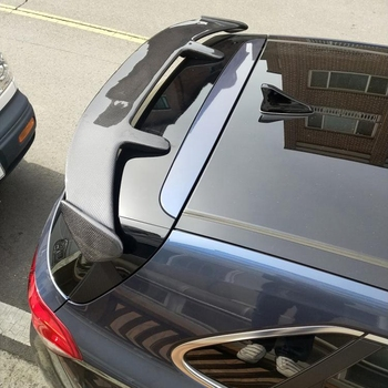 цена на Car Accessories Carbon Fiber Rear Trunk Wing Roof Spoiler fit for Hyundai I30 2008 - UP