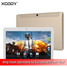 DHL Free Shipping XGODY K109 4G LTE Unlock Phone Call Tablet 10.1 Inch Android 6.0 MT6753 Octa Core 2G+32G 1920*1080 Tablet PC
