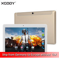 Dhl-freies Verschiffen XGODY K109 4G LTE Entsperren Anruf Tablet 10,1 Zoll Android 6.0 MT6735 Octa-core 2G + 32G 1920*1080 Tablet PC