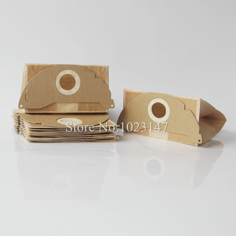 5 pieces/lot Vacuum Cleaner Paper Bags Filter Dust Bag Replacement for karcher A2004 A2054 WD2.200 etc цена 2017