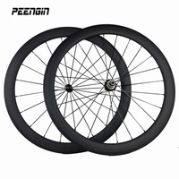 complete carbon bike road fiber bicycle wheelsets 50mm clincher wheel roda carbono components online hot selling xiamen supplier