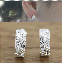 Crystal fashion charm ear clip Korean version of all-match beautiful ear hoops LM-C331
